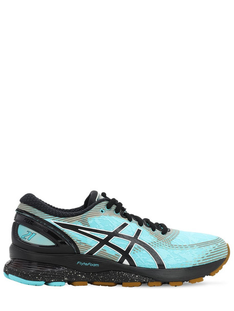 ASICS Gel-nimbus 21 Winterized Running Sneaker in mint