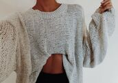 sweater,grey sweater