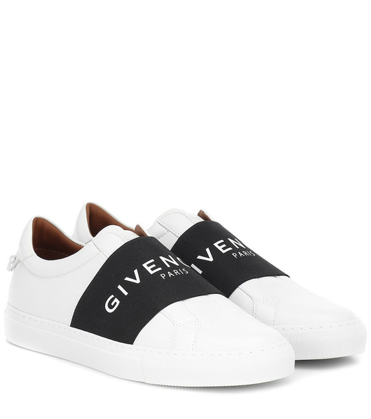 Givenchy Urban Street leather sneakers in white