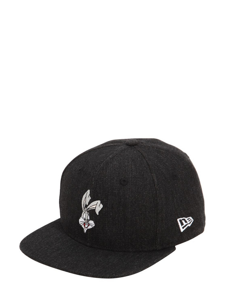 NEW ERA 9fifty Bugs Bunny Cotton Baseball Hat in black