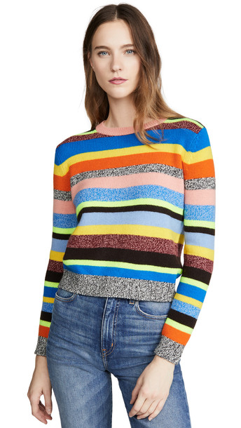 Chinti and Parker Anni Stripe Sweater in multi