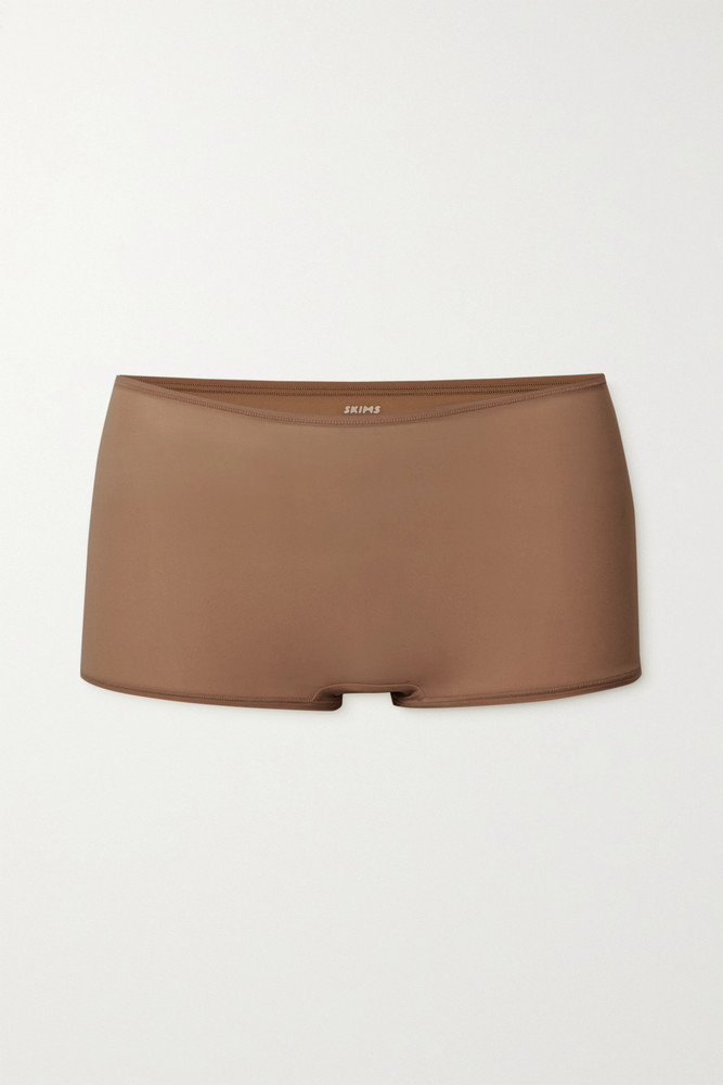 SKIMS - Fits Everybody Boy Shorts - Cocoa in neutrals