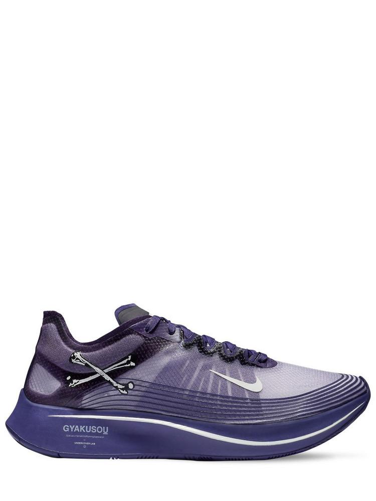 NIKE GYAKUSOU UNDERCOVER LAB Zoom Fly X Undercover Gyakusou Sneakers in purple