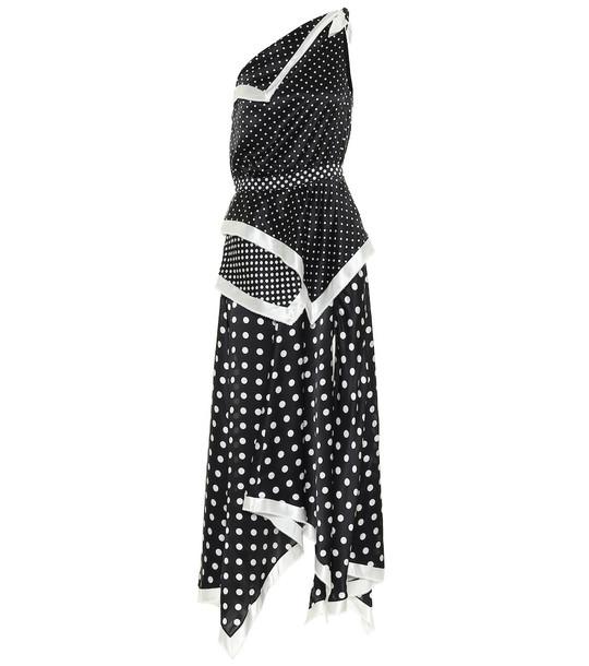 Altuzarra Petrel silk dress in black