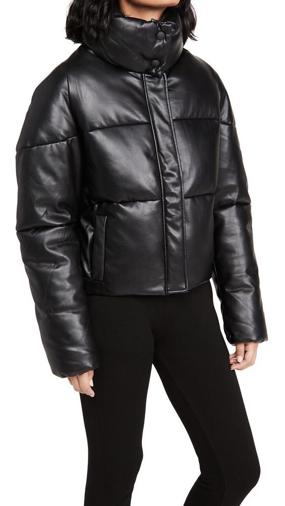 Apparis Jemma Puffer Jacket in noir