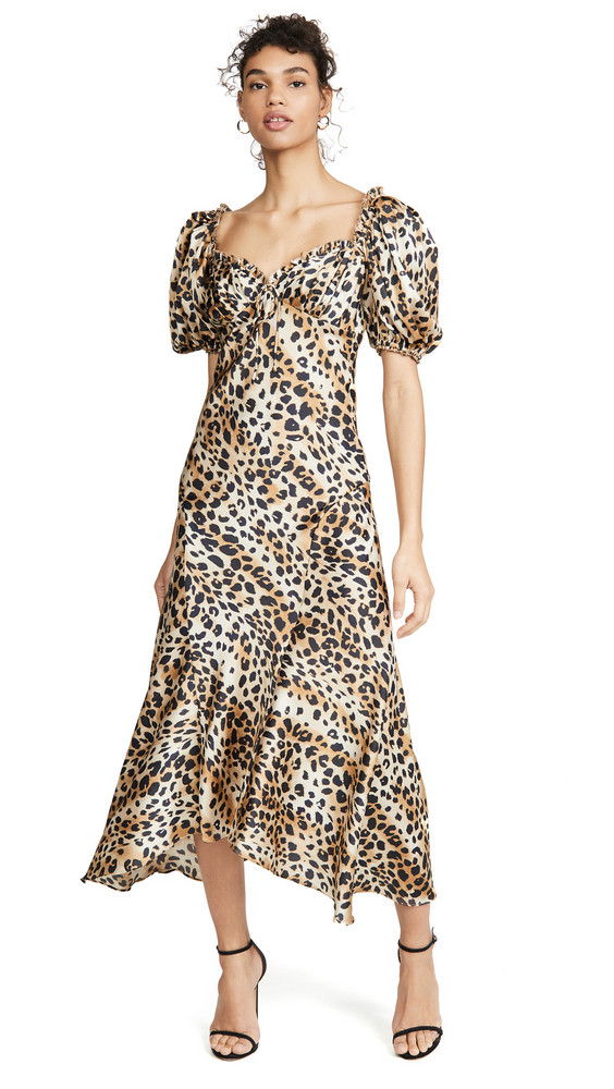Ronny Kobo Miri Dress in multi / leopard