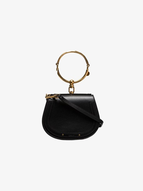 Chloé Chloé black Nile mini leather bracelet bag