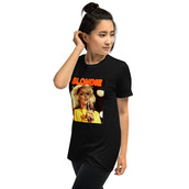 top,blondie hanging on the telephone t-shirt