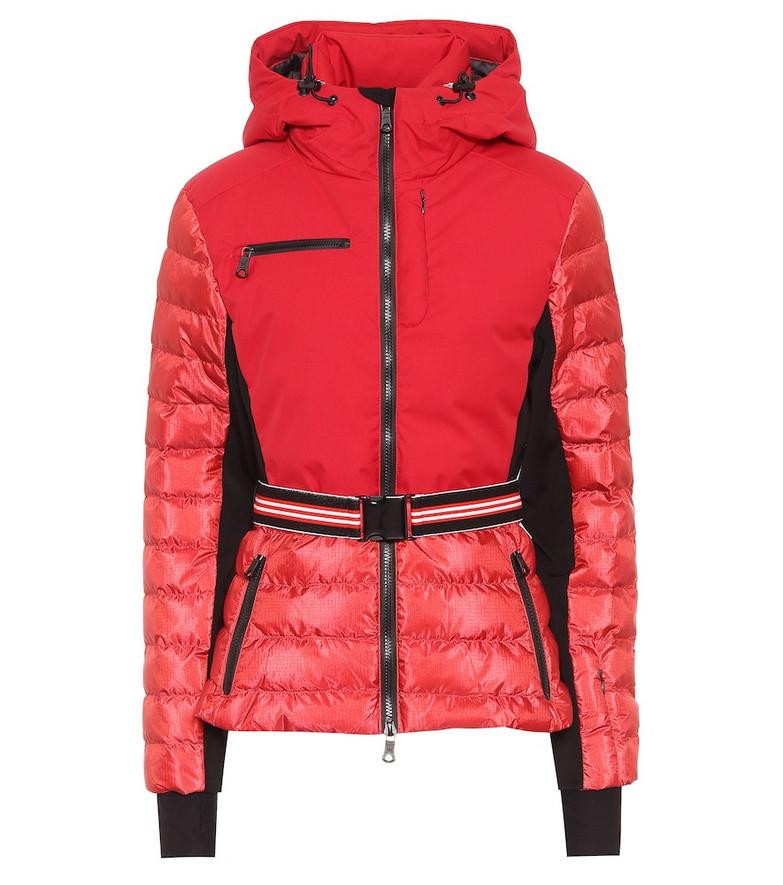 Erin Snow Kat hooded ski jacket in red