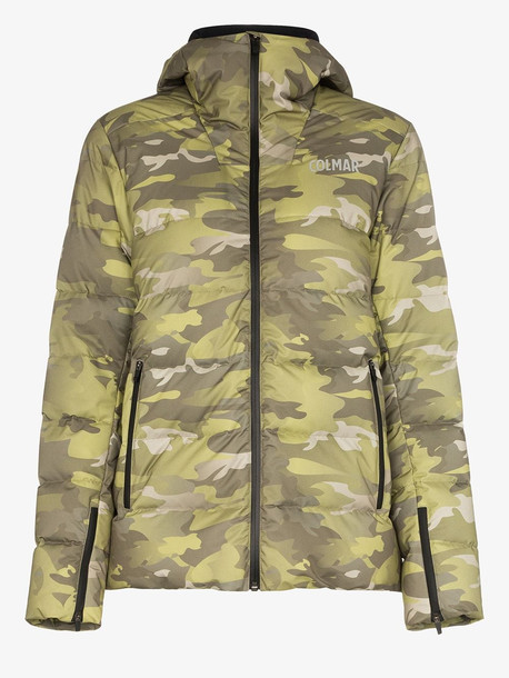 Colmar Camouflage print puffa jacket