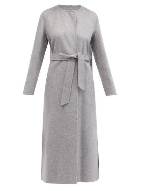 Max Mara - Bozen Coat - Womens - Light Grey