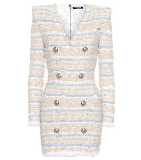 Balmain Bouclé tweed dress