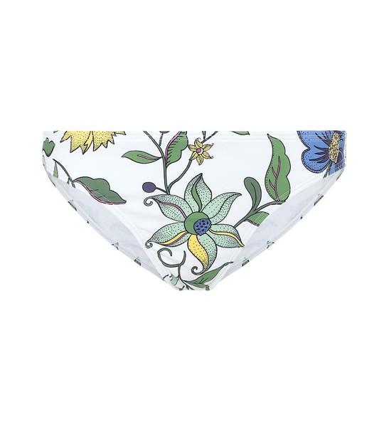 Tory Burch Floral bikini bottoms in white