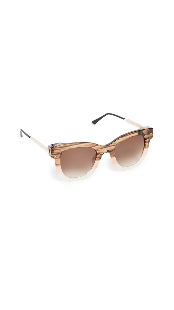 Thierry Lasry Sexxxy 901 Sunglasses in brown / pink