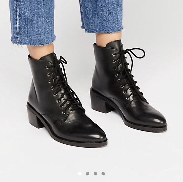 shoes, lace up boots, boots, leather
