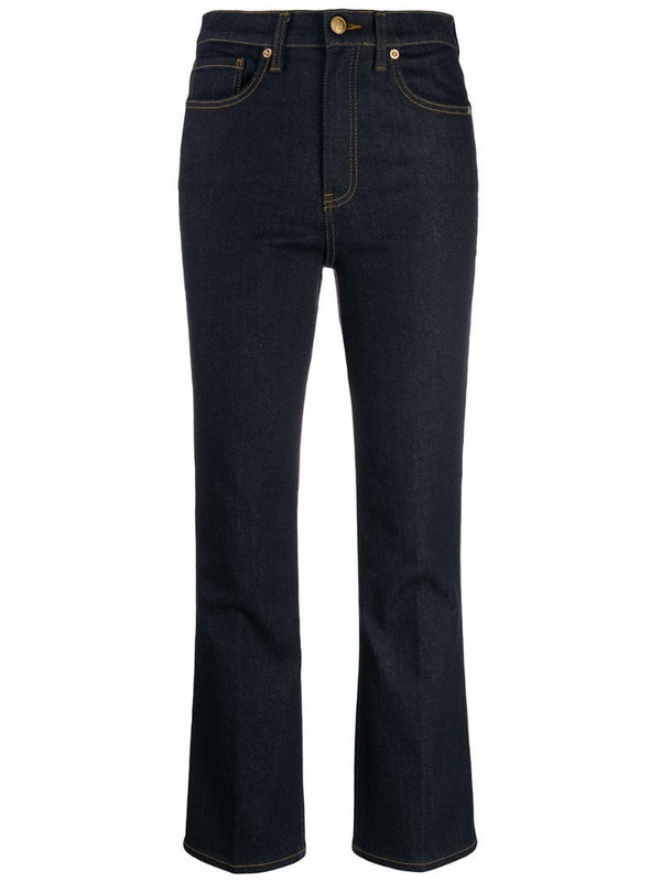 Tory Burch mid-rise jeans in blue