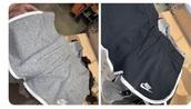 shorts,nike,grey,black
