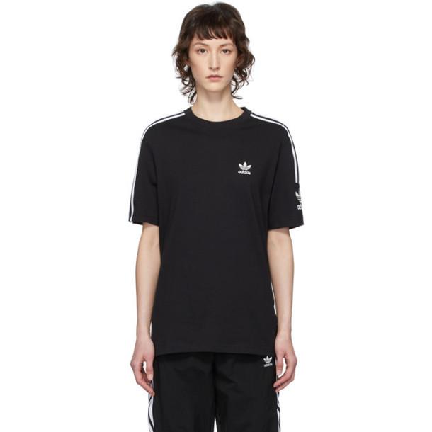 adidas Originals Black Lock Up T-Shirt