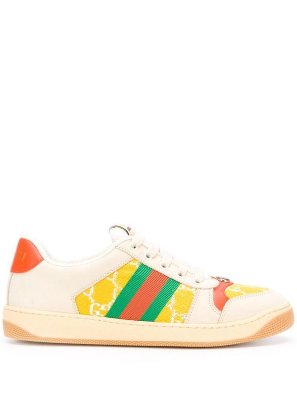 Gucci Screener sneakers in neutrals