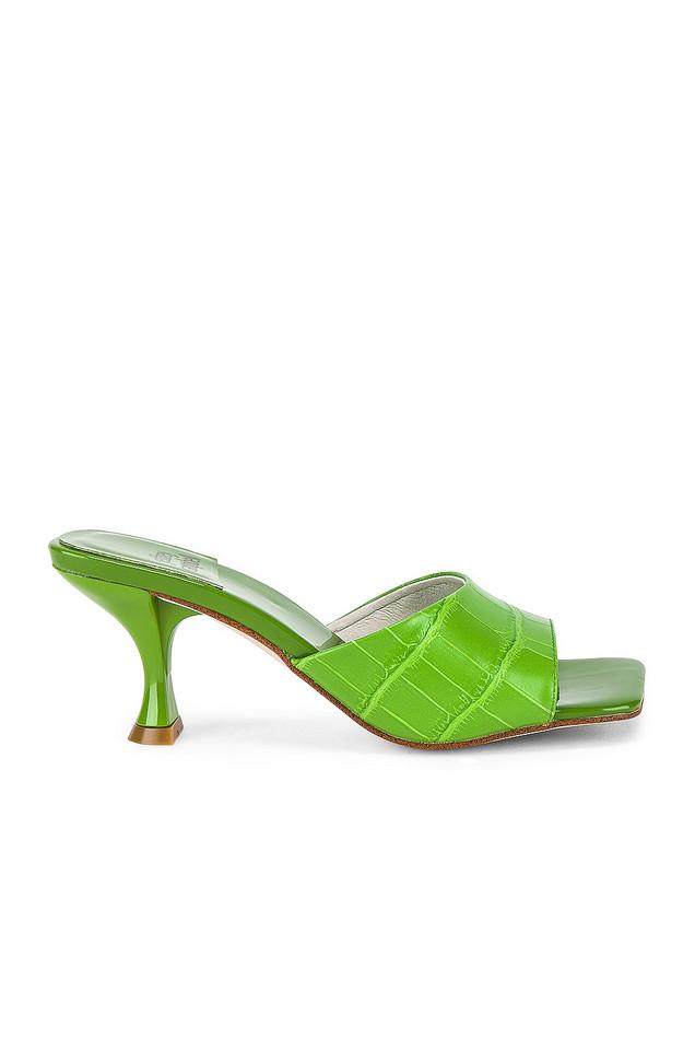 Jeffrey Campbell Mr Big Heel in green