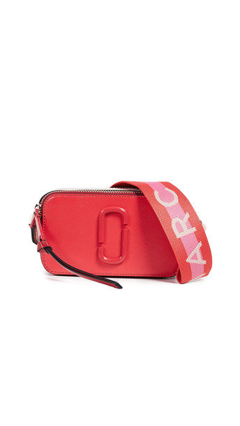Marc Jacobs Snapshot DTM Camera Bag in red / multi