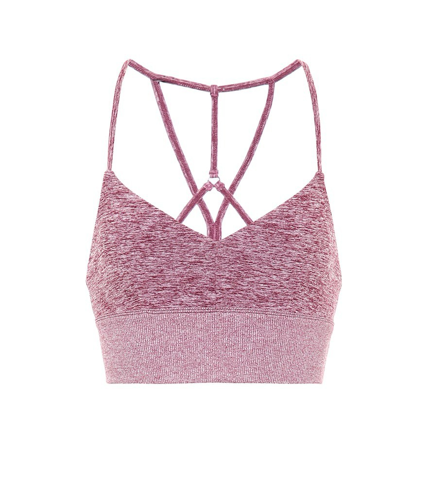 Alo Yoga Alosoft Lavish sports bra in pink