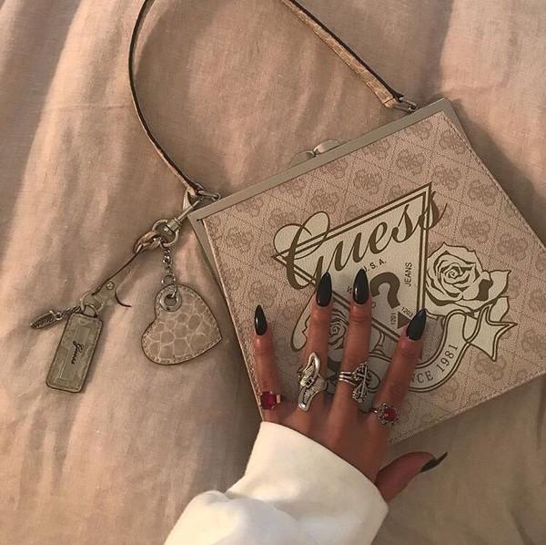 bag guess purse satchel