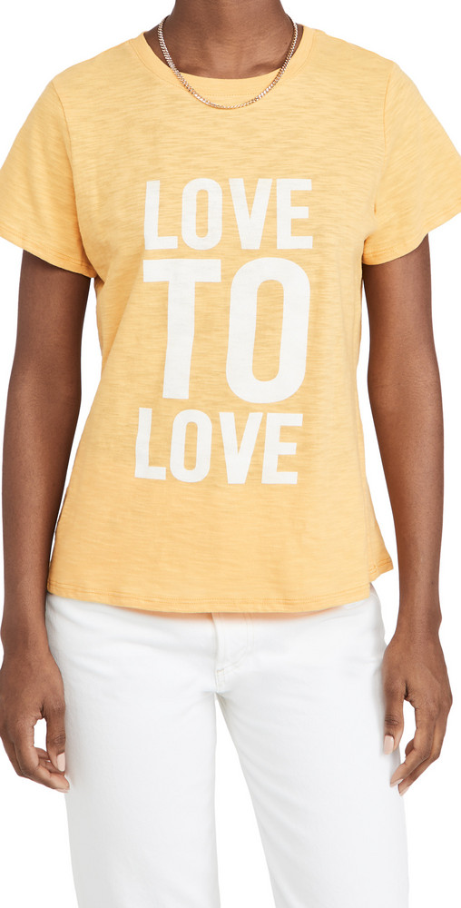 Cinq a Sept Love To Love Tee in white