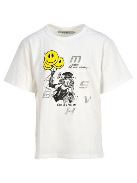 Misbhv Misbhv Printed T-shirt in white