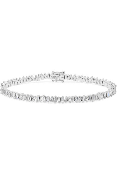 Suzanne Kalan - 18-karat White Gold Diamond Bracelet