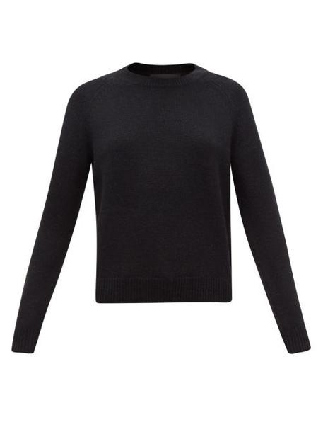 Nili Lotan - Vesey Wool-blend Sweater - Womens - Black
