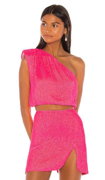 retrofete x REVOLVE Karen Blouse in Pink