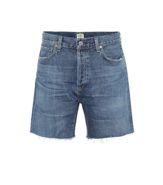 Citizens of Humanity Bailey high-rise denim shorts in blue