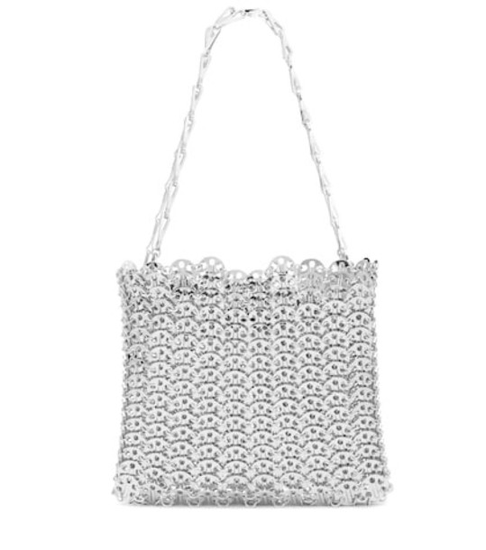 Paco Rabanne Iconic 1969 shoulder bag in silver