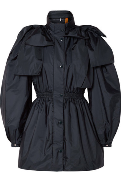 Moncler Genius - 4 Simone Rocha Susan Bow-embellished Shell Down Jacket - Navy