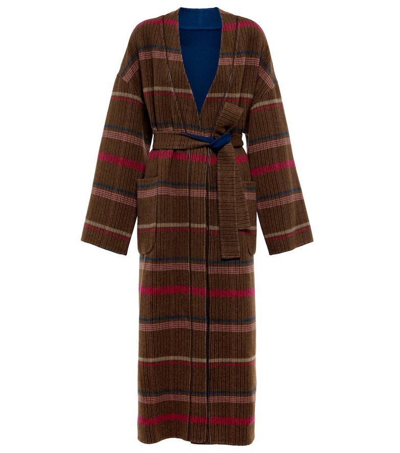 Loro Piana Cashmere coat in brown