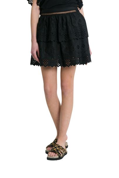 Alberta Ferretti Sanfgallo Miniskirt in nero