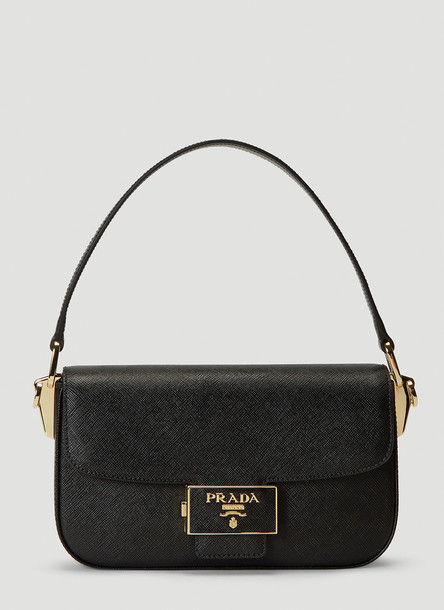 Prada Ensemble Shoulder Bag in Black size One Size