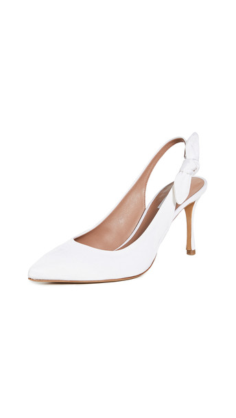 Tabitha Simmons Millie Pumps in white