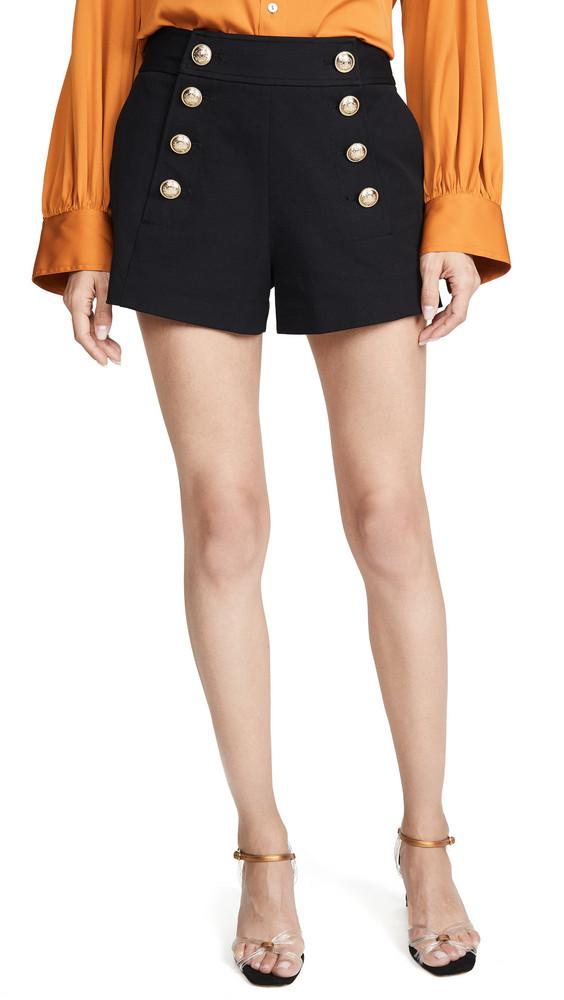 Derek Lam 10 Crosby Sailor Shorts in black