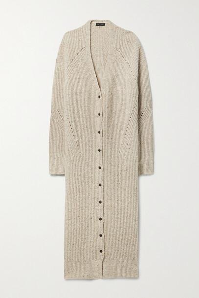 rag & bone - Ribbed Wool-blend Maxi Dress - Neutrals