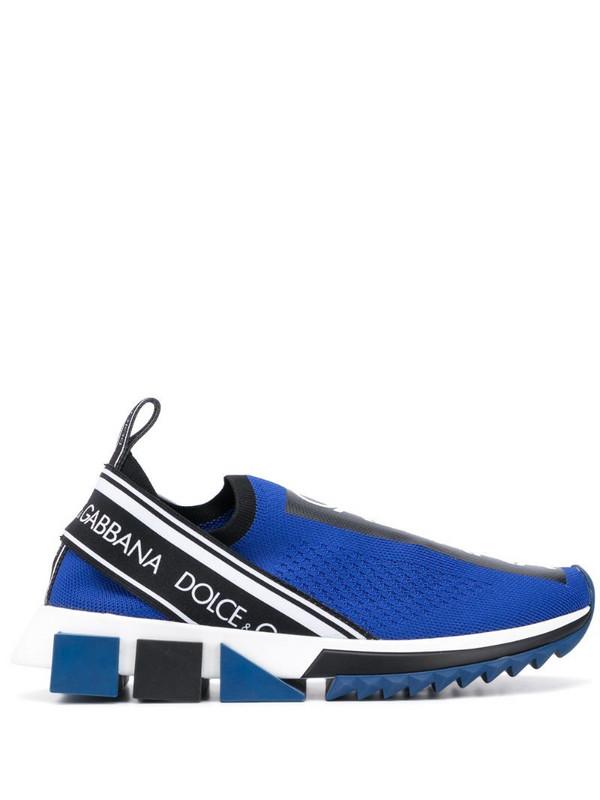 Dolce & Gabbana Sorrento sock sneakers in blue