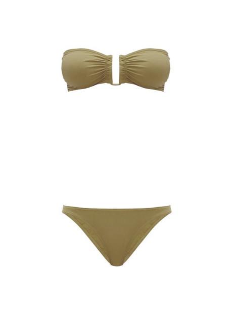 Eres - Show & Fripon Bandeau Bikini - Womens - Khaki