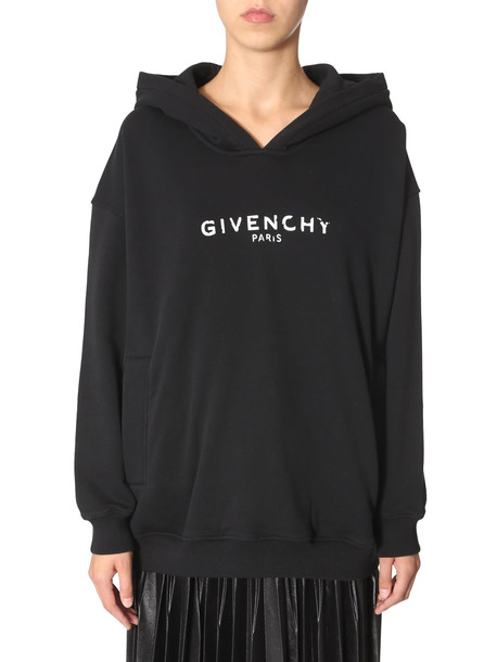 Givenchy Hooded Sweatshirt in nero