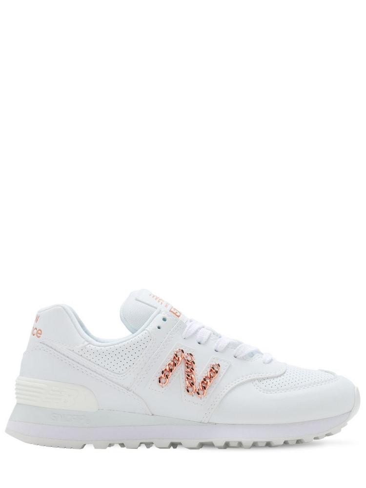 NEW BALANCE 574 Sneakers in white