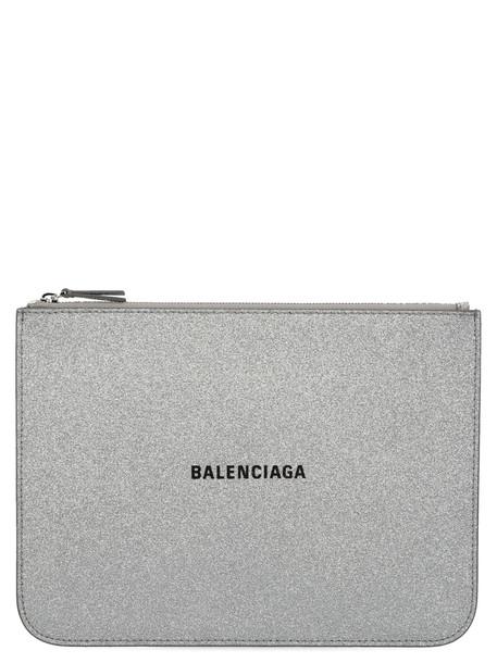 Balenciaga everyday Pouch in silver
