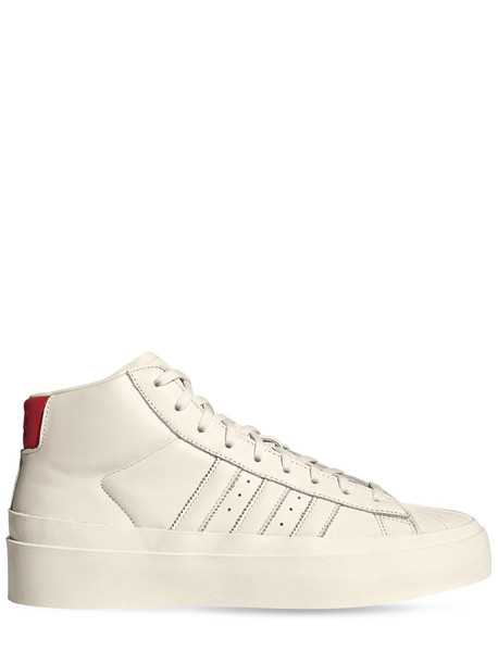 ADIDAS ORIGINALS STATEMENT Pro Model 80s Sneakers in white