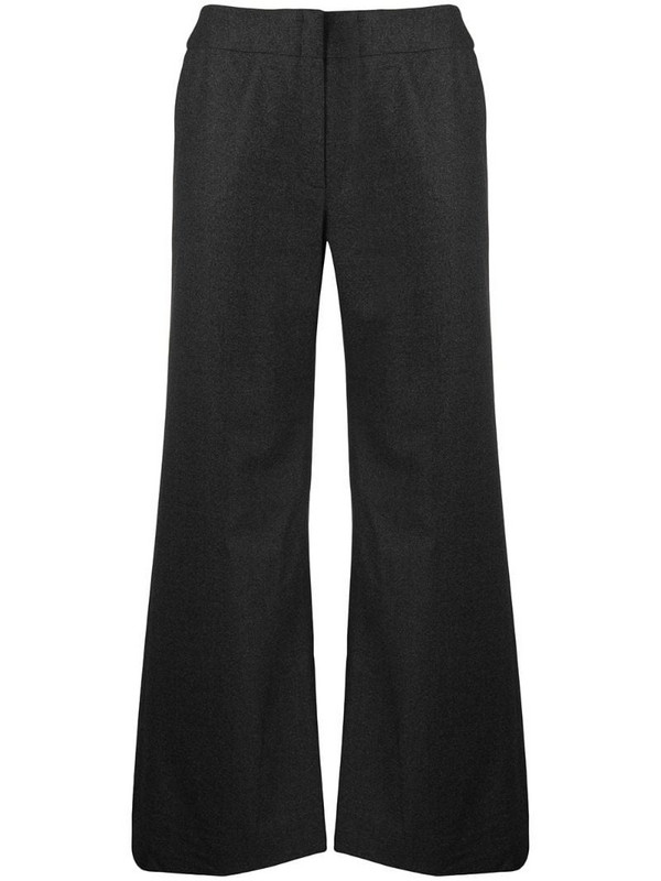 Chanel Pre-Owned wide-legged tailored trousers in grey