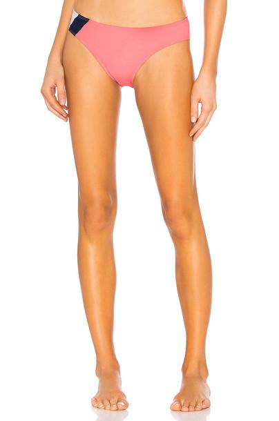 FLAGPOLE Maya Bikini Bottom in pink