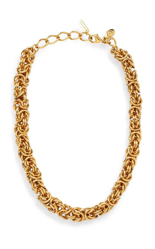 Jennifer Behr Zyra Brass Chain Necklace in gold